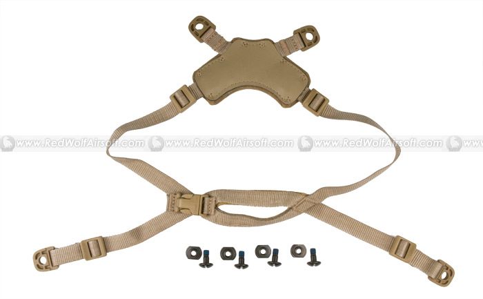 Ops-Core Head-Loc ACH Retention System (X-Nape Small/Medium / Tan)