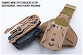 GK Tactical 0305 ML16 Molle Lock - DE