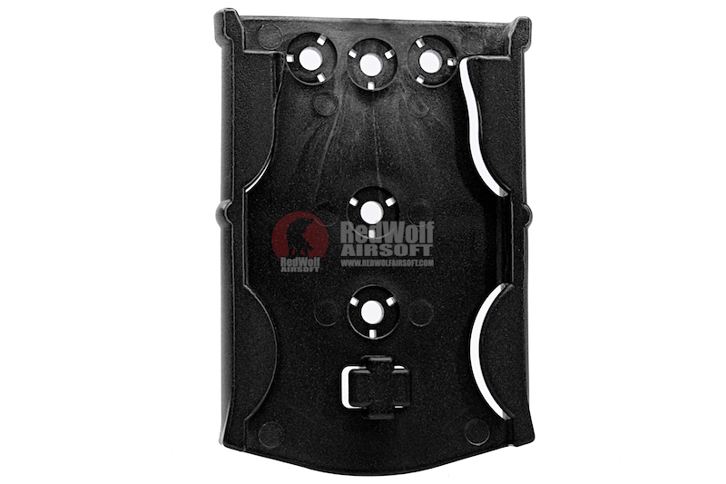 GK Tactical 0305 ML17 Molle Locking Receiver Plate - Black