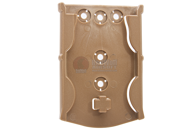 GK Tactical 0305 ML17 Molle Locking Receiver Plate - DE