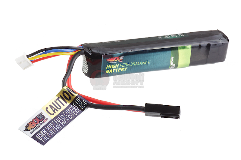 BOL 11.1v 1000mAh 20C Candy Bar Pack 3 Cells Li Po Battery (Small Tamiya) (fit for Krytac Kriss Vector)