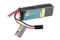 BOL 11.1v 2400mAh 20C Candy Bar Pack 3 Cells Li Po Battery (Small Tamiya)