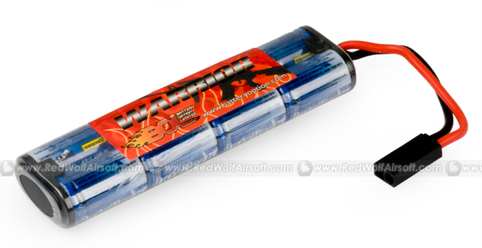 Intellect High Performance 1600 mAh 8 cells 9.6V (NP5 Pack)