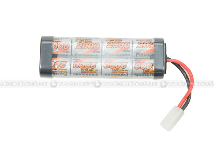 Panasonic 9.6v 2000mAh High Volt 8 Cells - Battery Pack (NiMH)
