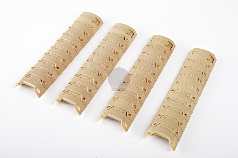 Action Armor Rail Panel Set (Tan)