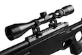 Action T96 Airsoft Sniper - Black