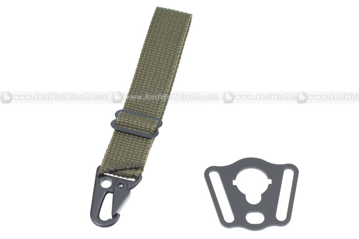 Action Rectangle Sling Adaptor for M4 Type B (RG)