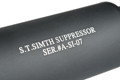Action S.T. Simth Silencer (80mm / Black)