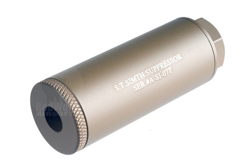 Action S.T. Simth Silencer  (80mm / Tan)