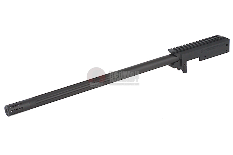 A Plus Airsoft X-RING Full CNC Chassis Conversion Kit for KJ 10/22 Gas Rifle - Anodized Dark Grey