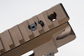 A Plus Airsoft X-RING Full CNC Chassis Conversion Kit for KJ 10/22 Gas Rifle - Anodized Flat Dark Earth