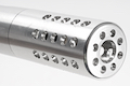 A Plus Airsoft X-RING Full CNC Chassis Conversion Kit for KJ 10/22 Gas Rifle - Anodized Brushed Silver