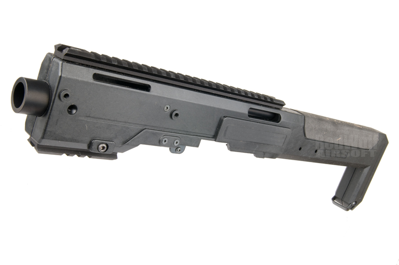 AABB HR Style Carbine Conversion Kit for KSC & KWA 17 / 18 (Black)
