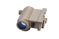 AABB T1 Red Dot Scope w QD Mount (Sand)