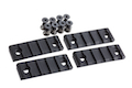 AABB 5-Slot Polymer Rail for KeyMod ( Black )