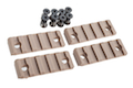 AABB 5-Slot Polymer Rail for KeyMod ( DE )