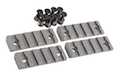 AABB 5-Slot Polymer Rail for KeyMod ( FG )