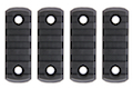 AABB M-LOK Nylon Picatinny Rail Sections 5 Slots - Black <font color=yellow> (Holiday Deal)</font>