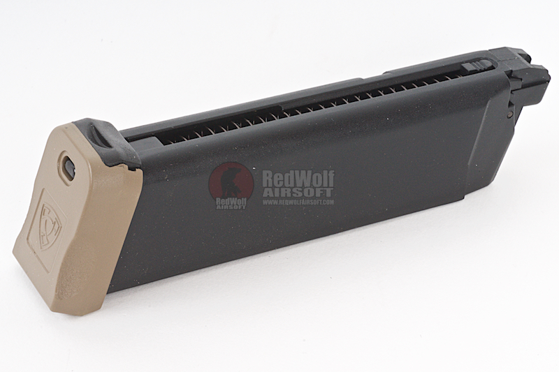 APS 23rds ACP Series CO2 Magazine - Dark Earth