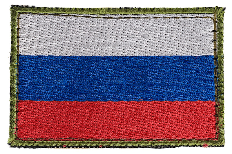 IRT Flagpatch Russia