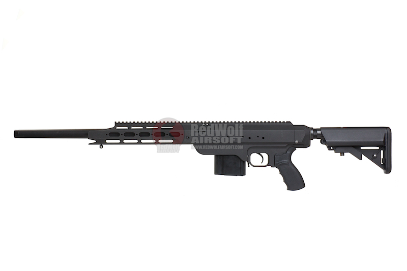 Action Army AAC 21 Sniper Gas Rifle - Black