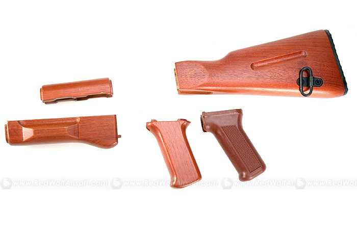 Action AK74 Wooden Conversion Kit for Marui AK