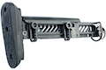 Asura Dynamics New PT-1 AK Telescopic Foldable Buttstock for AEG/ GBB