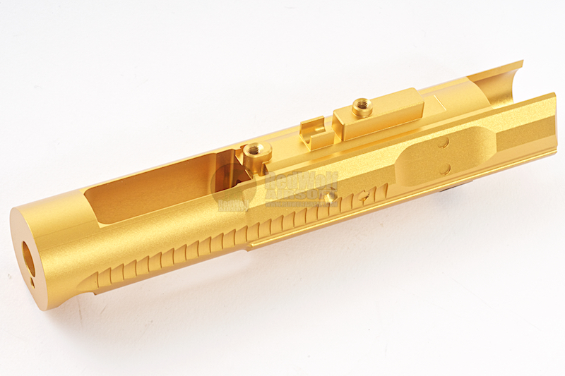 Asura Dynamics Aluminum Bolt Carrier for Tokyo Marui M4A1 MWS GBB - Gold <font color=yellow>(Clearance)</font>