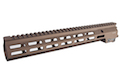 Arrow Dynamic Aluminum MK16 M-Lok 13.5 inch Rail for M4 AEG / GBB Series - DE