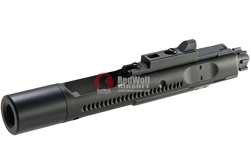 Angry Gun Complete MWS High Speed Bolt Carrier with MPA Nozzle (Original) for Tokyo Marui M4 MWS GBBR - Black