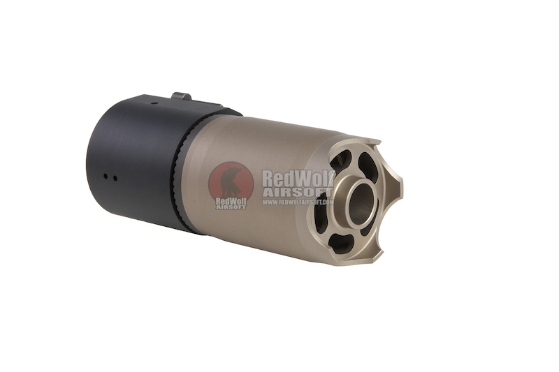 Angry Gun ROTEX V Blast Deflector - Dummy Silencer Ver. (Licensed by ASG) (ASIA Edition w/ B&T Trademark)