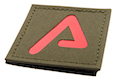 Agency Arms Premium Patches Ranger Green / Red 'A'