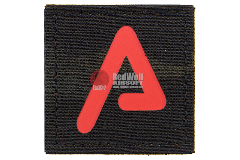 Agency Arms Premium Patches Multicam Black / Red 'A'
