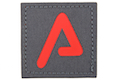 Agency Arms Premium Patches Wolf Grey / Red 'A'
