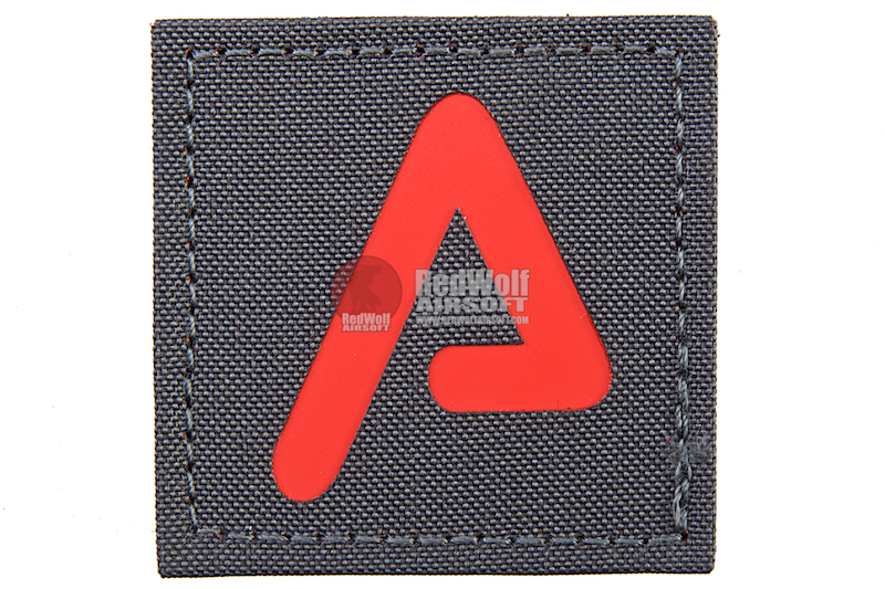 Agency Arms Premium Patch Wolf Grey / Red 'A'