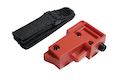 Airtech Studios Universal Sidewinder Adapter for Odin M12 Sidewinder - Red