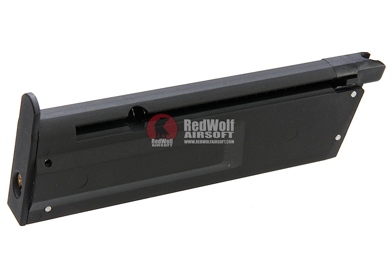 ICS PRS 14rds Magazine for Korth PRS GBB Pistol  - Black (Licensed by Korth)