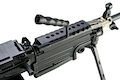 A&K M249 MKII Light Machine Gun AEG - Black