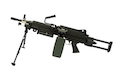 A&K M249 PARA Light Machine Gun AEG - Black