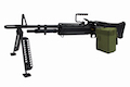 A&K Full Metal M60 Airsoft AEG Light Machine Gun  - Black