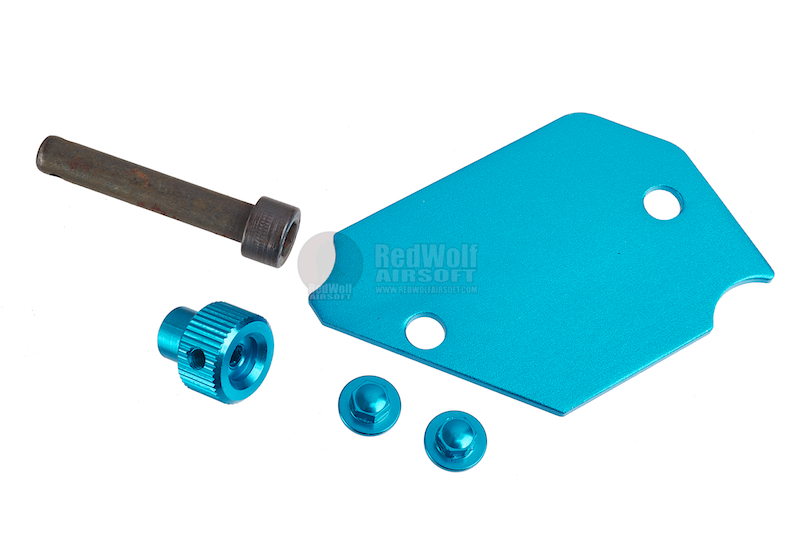 AKA Aluminum Plate for AIP Pouch - Blue <font color='red'>(Blowout Sale)</font>