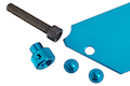 AKA Aluminum Plate for AIP Pouch - Blue