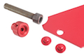 AKA Aluminum Plate for AIP Pouch - Red