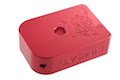 AKA CNC Limcat Puzzle Magazine Base for Tokyo Marui Hi-Capa 5.1/4.3 Series - Red / Large
