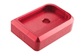 AKA CNC Limcat Puzzle Magazine Base for Tokyo Marui Hi-Capa 5.1/4.3 Series - Red / Small