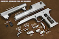 ALC DESERT EAGLE .50 Steel Kit for Cybergun/WE DE .50 GBB Pistol - Glossy Black