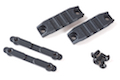 ARES M4 Handguard Rail (R-01 X 2 / Screw / Metal Piece X 2) - BK