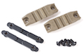 ARES M4 Handguard Rail (R-01 X 2 / Screw / Metal Piece X 2) - DE