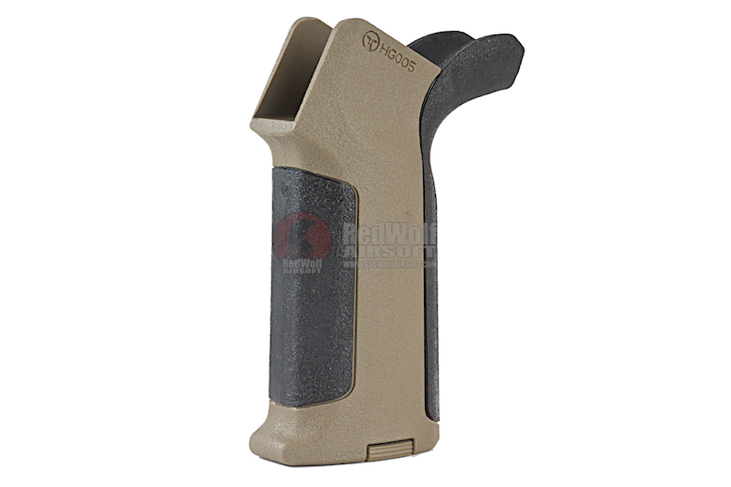 ARES Amoeba Pro Beavertail Backstrap Grip for Ameoba & Ares M4 Series - BK / DE