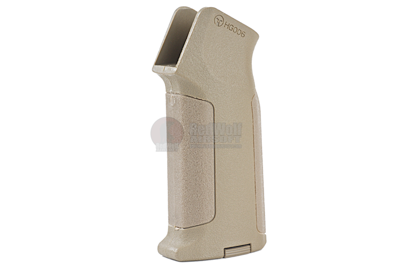 ARES Amoeba Pro Straight Backstrap Grip for Ameoba & Ares M4 Series - DE